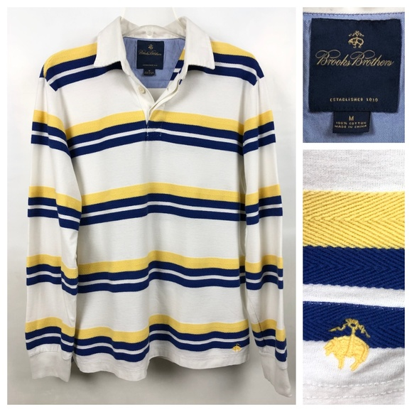 Brooks Brothers Other - Brooks Brothers classic weekend rugby shirt, EUC
